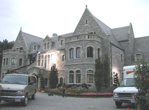Exterior of Blair Warner's Inn.